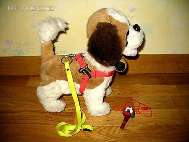 Jouet interactif peluche billy le chien enfant 4 ans +