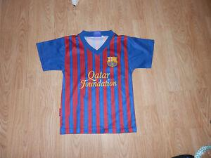 Maillot football fc barcelone floqué messi taille 4 ans
