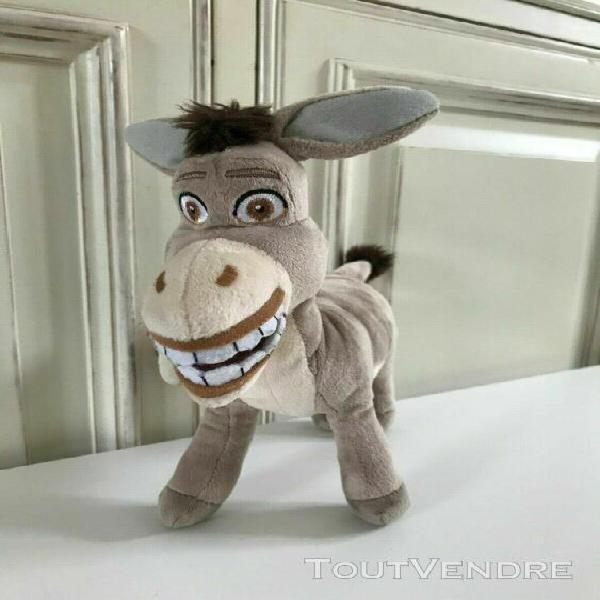 Peluches doudou l'âne l'ami de shrek dreamworks heroes ha