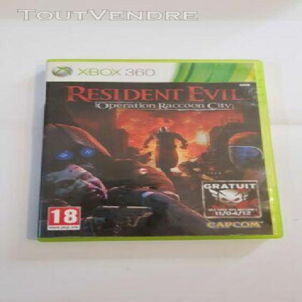 Resident evil: operation racoon city (xbox360/game/ver. eur