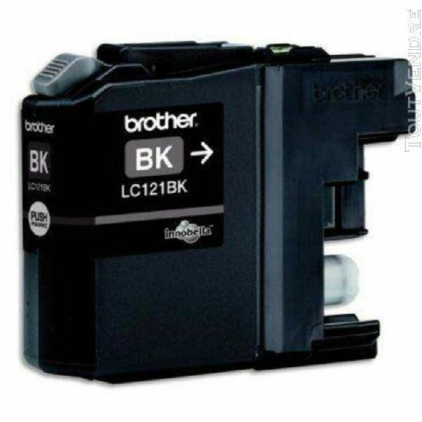 Brother cartouche jet d'encre noir lc121bk