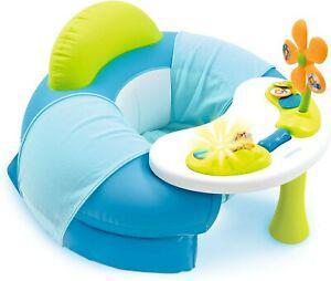 Siege fauteuil gonflable smoby avec tablette et jeux pour
