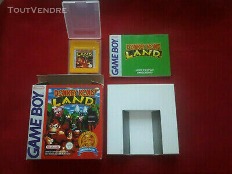Donkey kong land jeu gameboy game boy nintendo boite complet