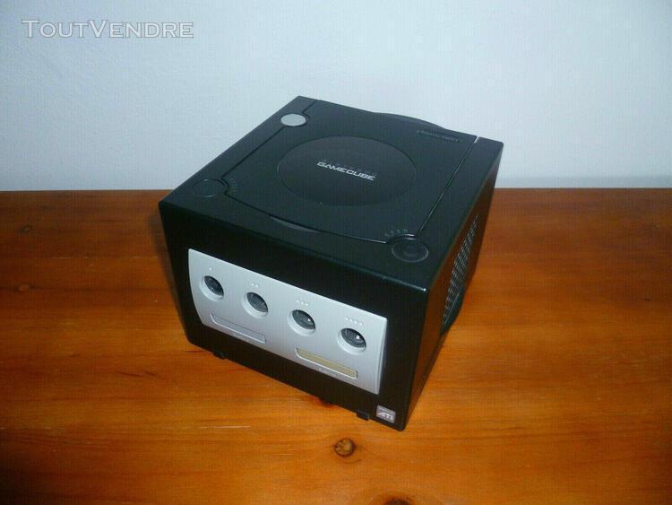 Game cube + socle + 9 jeux - métroid / starfox / mortal kom