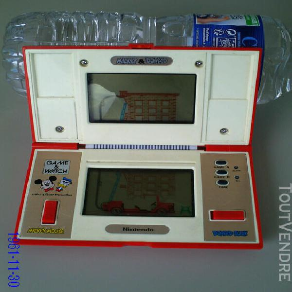 Jeu électronique vintage nintendo game & watch mickey &