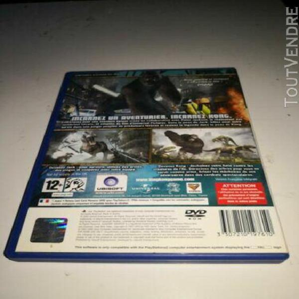Jeu ps2 peter jackson's king kong the official game of the m