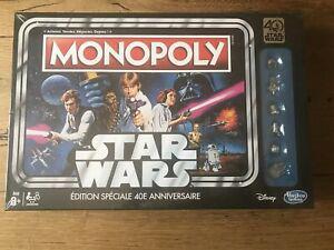 Monopoly star wars edition spéciale 40eme anniversaire neuf
