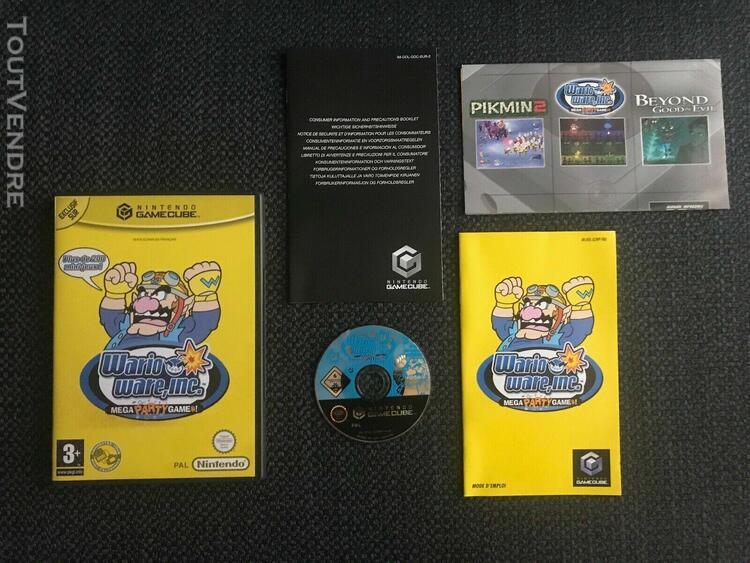 Warioware mega party games complet avec notice pour nintendo