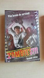 Zombies!!! vf 2nde édition - scellé mais légèrement