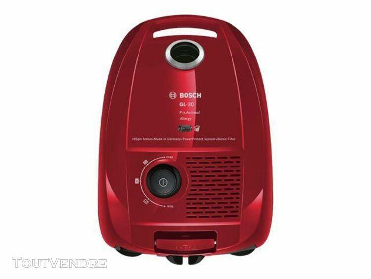 Bosch gl-30 proanimal bgl3a234 - aspirateur - traineau - sac