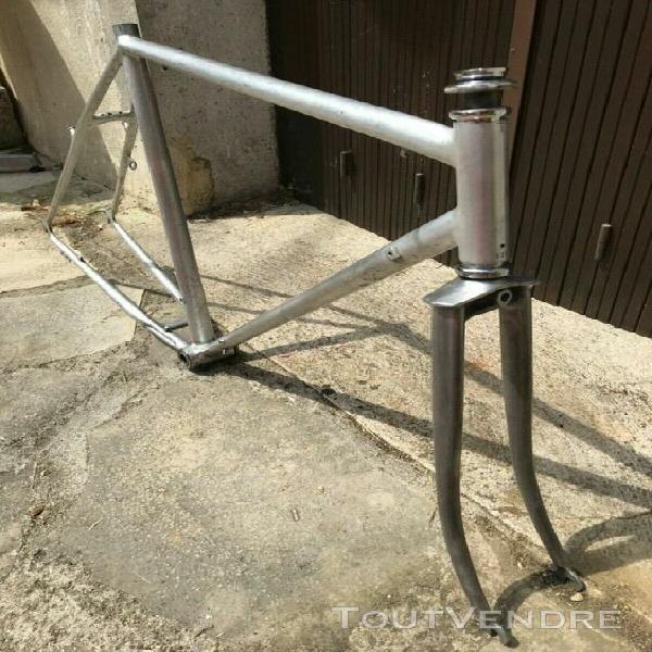 Cadre vélo randonneuse barra aluminium size 54 rare france