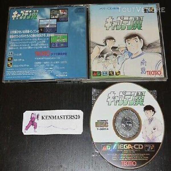 Captain tsubasa olive & tom - sega mega cd import japan