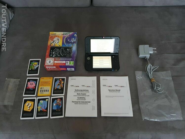 Console nintendo new 3ds xl édition pokemon soleil et lune