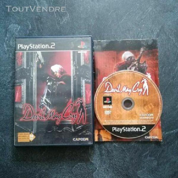 Jeux vidéo devil may cry 1 playstation 2 ps2 capcom avec no
