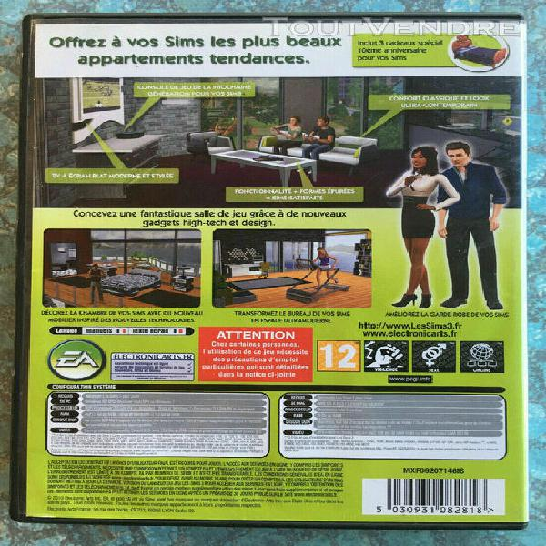 Les sims 3 inspiration loft kit disque additionnel pc fr - d