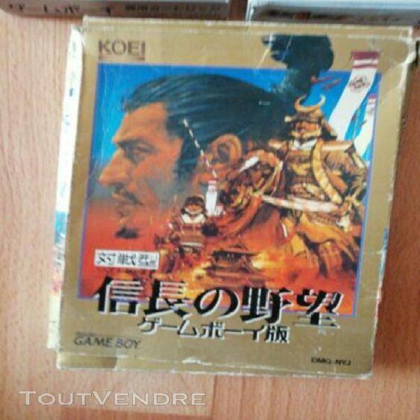 Lot jeux game boy jap