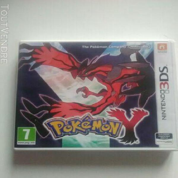 Pokémon y (nintendo 3ds, 2013)