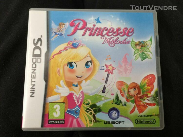 Princesse melodie nintendo ds 3ds 2ds français