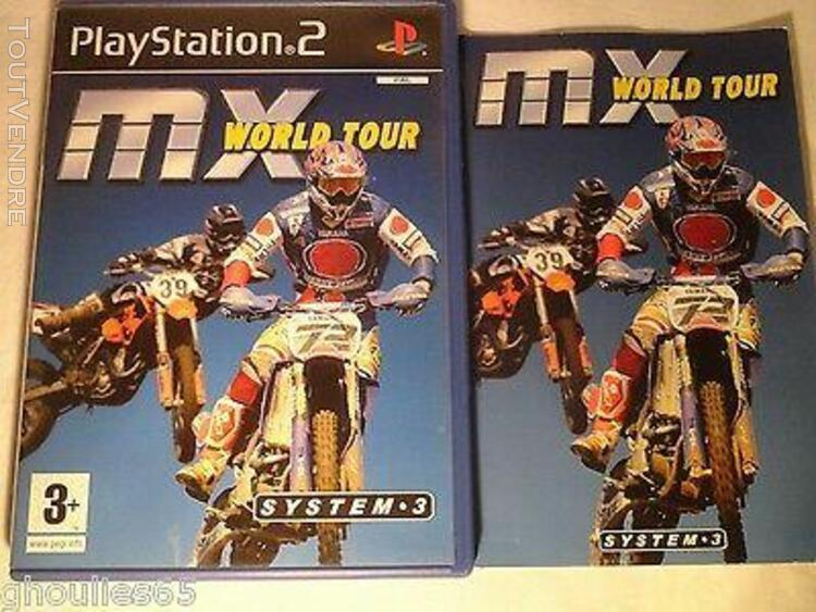 Ps2 ps3 mx world tour playstation 2 mx world tour ps2