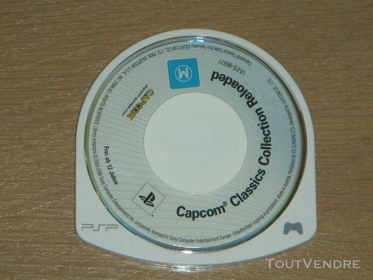 Rare jeu sony psp ** capcom classics collection reloaded *