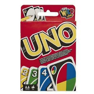 1 jeu de cartes uno - mattel games - (7 ans+) neuf declasse