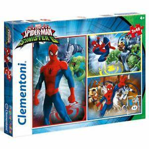 1 puzzle triple enfants spider-man vs the sinister 6 (4