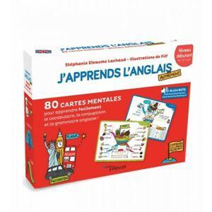 80 cartes j'apprends l'anglais autrement niveau