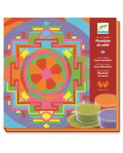 Boîte art au numéro sables colorés mandalas tibétains (8