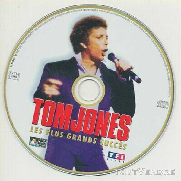 Cd promo 31 titres - tom jones - les plus grands succes - tv