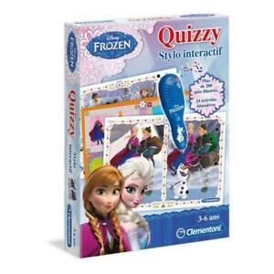 Clementoni quizzy - la reine des neiges - stylo parlant -