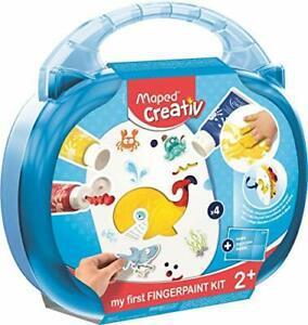 Maped creativ - kit de peinture au doigt - loisirs créatifs