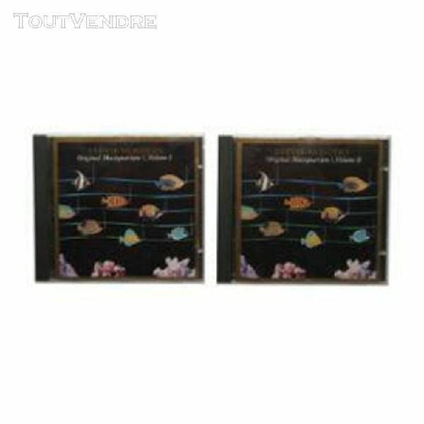 Original musiquarium volumes i et ii (made in japan)