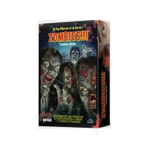 Zombies !!! - troisième édition, edge entertainment