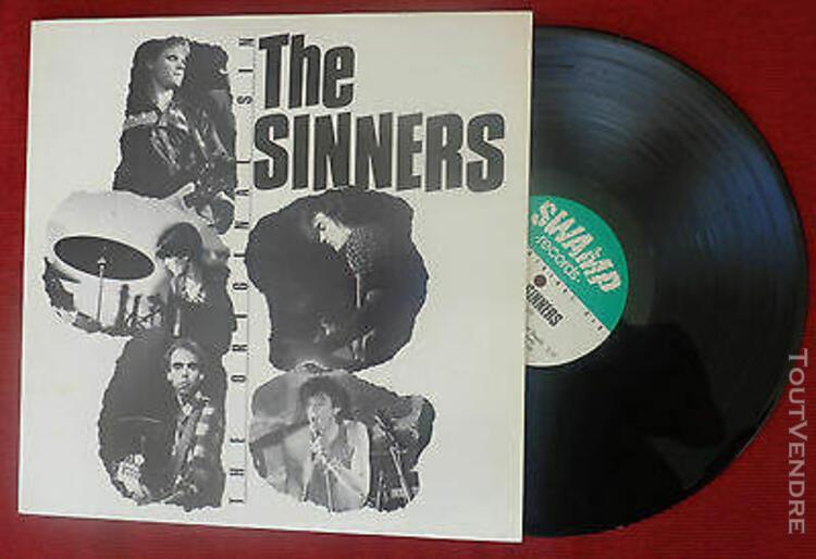 "1 33 tours (lp) de the sinners ""the original sin"""