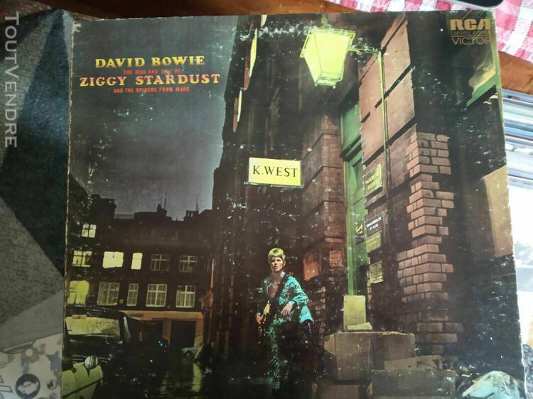 David bowie ziggy stardust insert original uk lp lsp4702