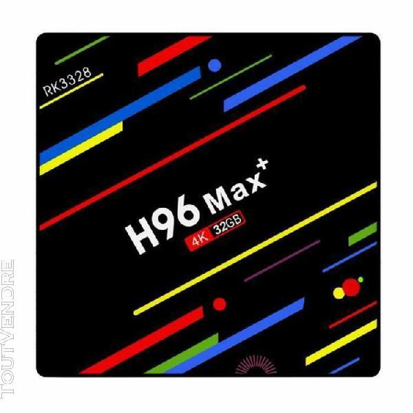 H96 max android 8.1 décodeur stream box rk3328 quad-core