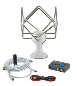 Antenne tv omnimax maxview 12/24 v pour poids-lourds,