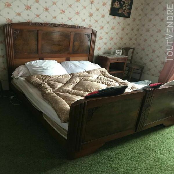 Chambre à coucher art déco d'origine