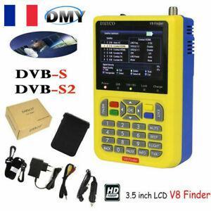 Détecteur de satellite numérique freesat v8 finder dvb-s2