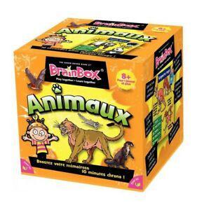 1 boîte de jeu - brainbox les animaux - (8 ans+) neuf