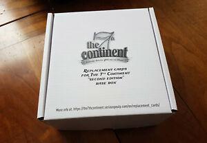 1 cartes de remplacement the 7th continent seconde edition