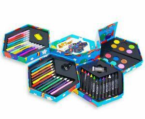 1 coffret de 52 crayons couleurs craft art et peintures neuf