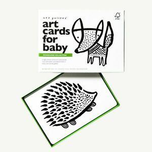 1 coffret de 6 cartes imagier - forêt - (6 mois+) neuf