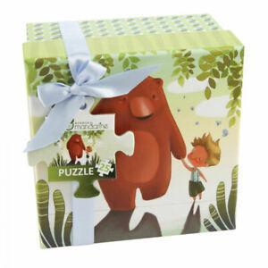 1 coffret puzzle enfants ours 25 pièces (3 ans+) neuf