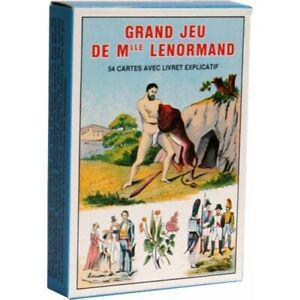 1 grand jeu de mlle lenormand - grimaud neuf destocke