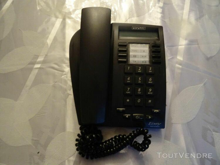 1 standard téléphonique filaire alcatel 4010 noir