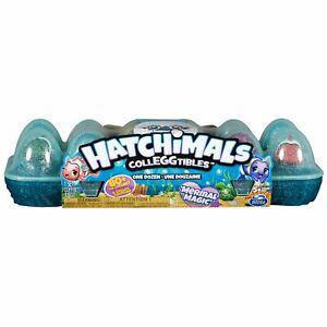 12 hatchimals à éclore - boîte à oeufs mermal magic (5