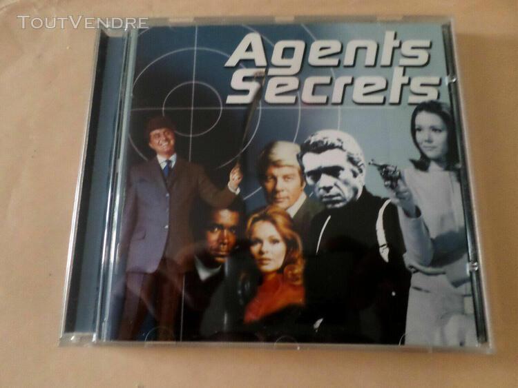Cd bof agents secrets, bond, bullitt, mannix....