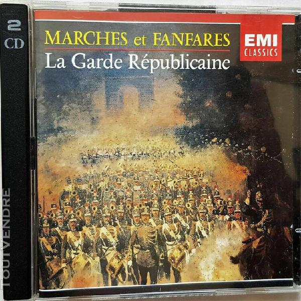 Marches et fanfares la garde republicaine (2 x cd)