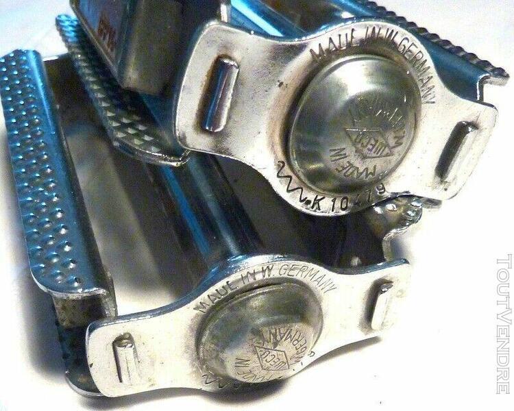 Pedales acier chrome weco